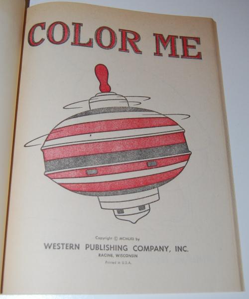 Color me vintage coloring book 1