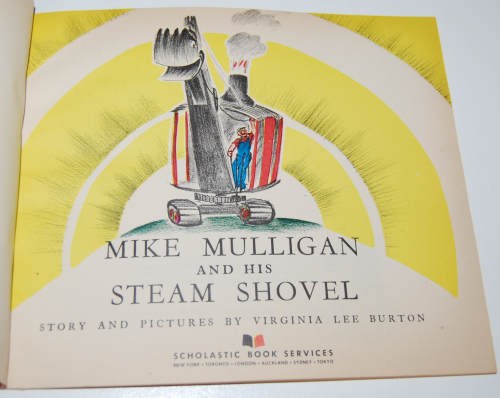 Scholastic book mike mulligan & the steam shovel 1