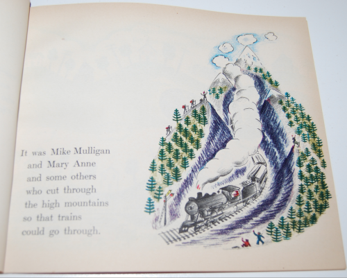 Scholastic book mike mulligan & the steam shovel 4