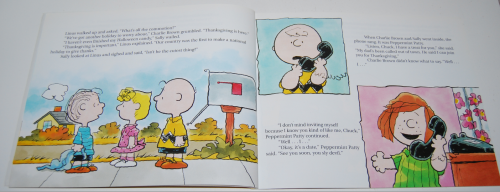 A charlie brown thanksgiving book 2