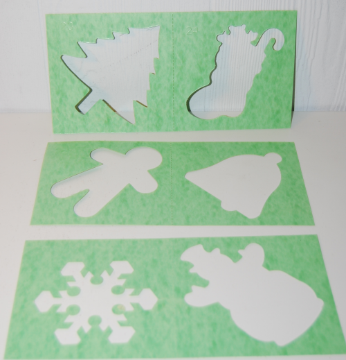 Holiday stencils 7