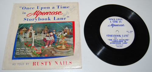 Storybook lane vinyl 45 rusty nails 3