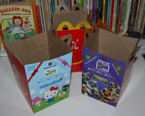 Mcd hello kitty happy meal 2016