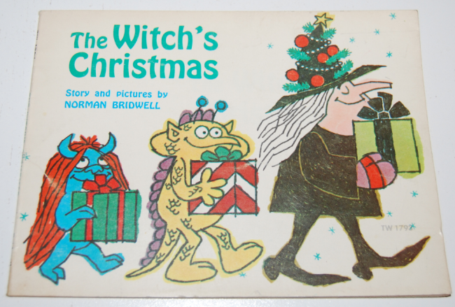 scholastic books ~ the witch's xmas