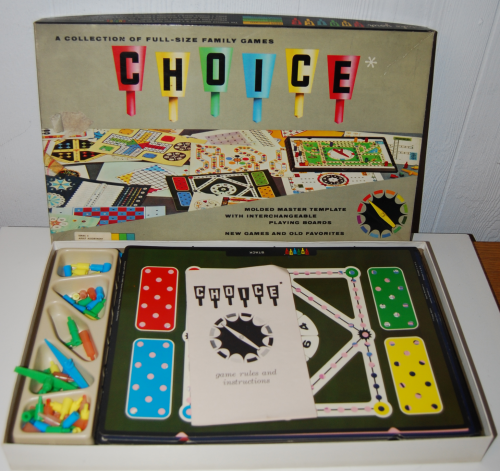 Choice vintage family games
