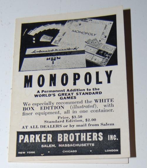 Vintage sorry game 2