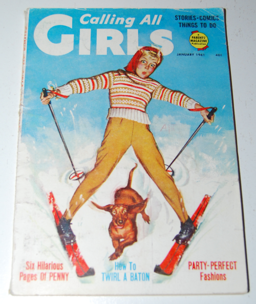 Calling all girls january 1961