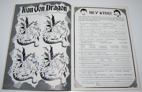 Jack & jill magazine january 1976 5
