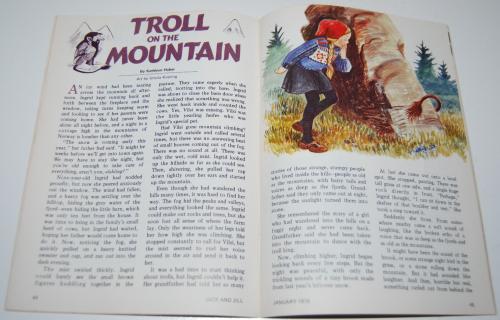 Jack & jill magazine january 1976 8