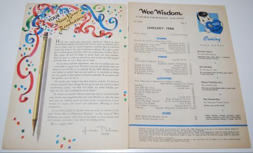 Wee wisdom january 1966 1