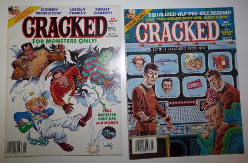 Cracked magazine 1987