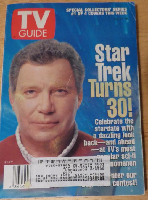 Star trek turns 30 tv guide