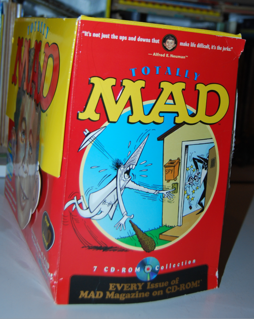 Totally mad cd rom set 5