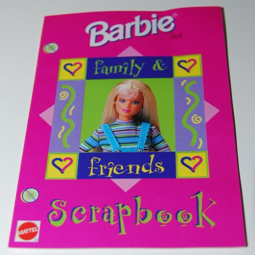 Barbie scrapbook