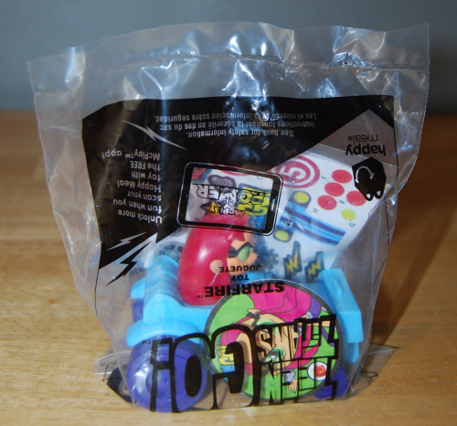 Teen titans happy meal toy