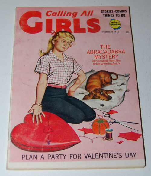 Calling all girls february 1961