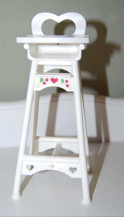 Barbie highchair