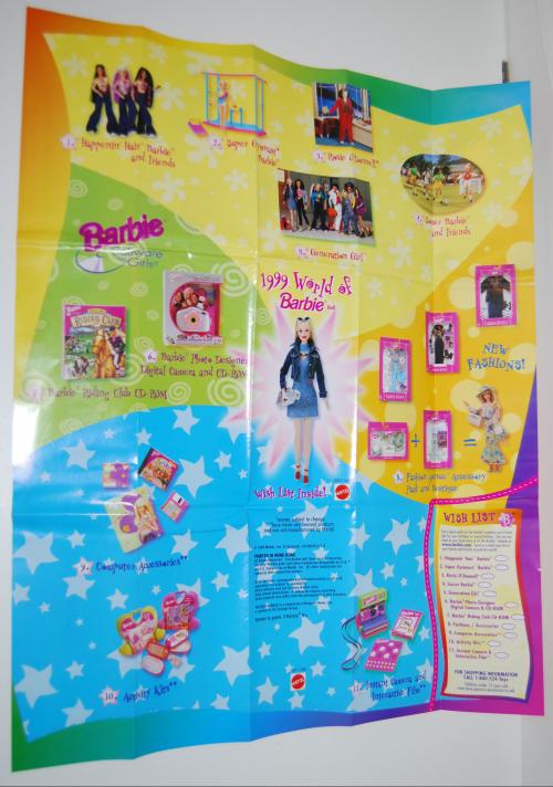 1999 world of barbie