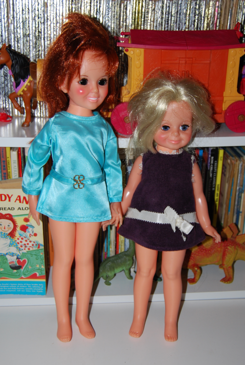 Vintage crissy dolls