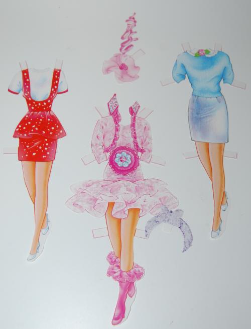 Barbie deluxe paperdoll 1991 6