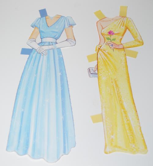 Princess diana paperdoll 1985 2