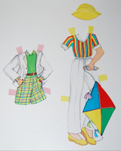 Rainbow paperdoll 7