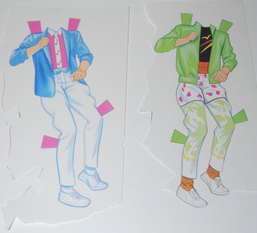 The rockers paperdolls 1