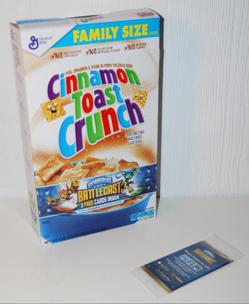 Skylanders cereal prize