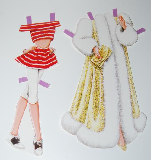 Barbie paperdoll 1990 5