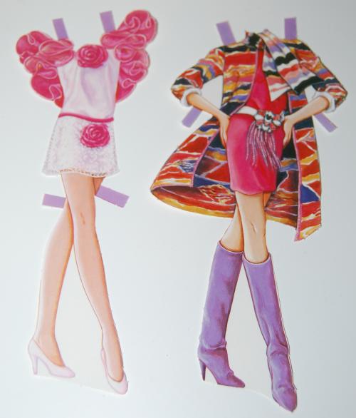 Barbie paperdoll 1990 8