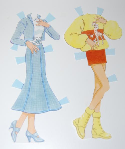 Barbie paperdoll 1990 3 (2)