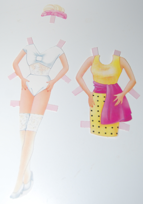 Barbie paperdolls 1992 5