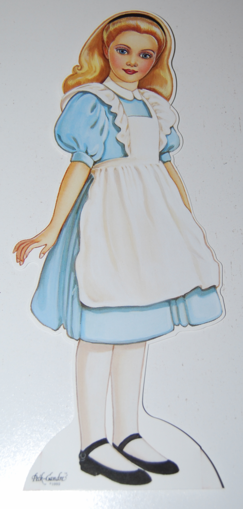 Alice in wonderland paperdoll by peck gandre 3