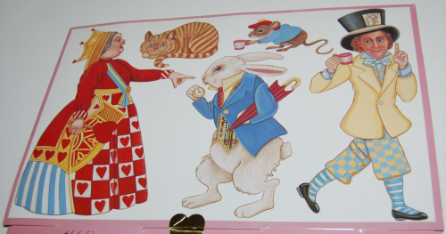 Alice in wonderland paperdoll by peck gandre 4