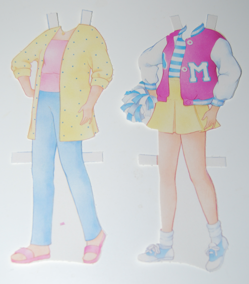 Maxie paperdoll 1989 3
