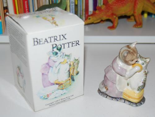 Beatrix potter ceramic x