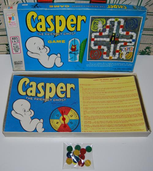 Vintage casper the ghost board game x