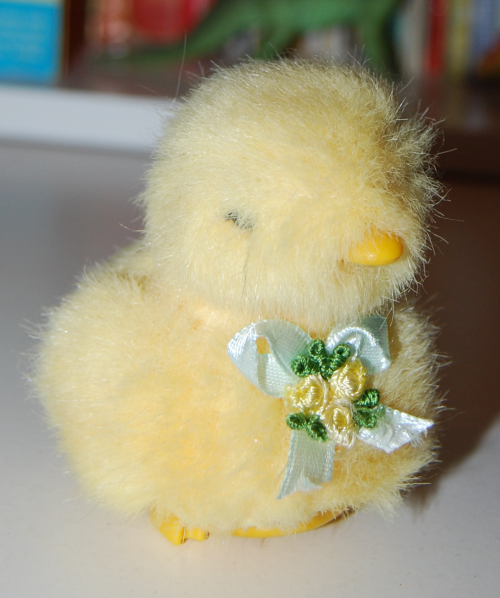 Easter chick toy 1