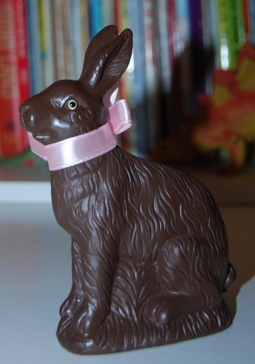 Chocolate easter bunny figures 2