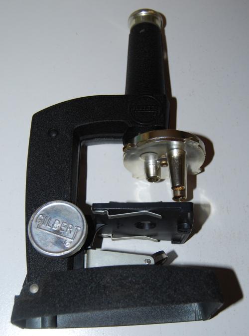 Vintage gilbert microscope 7