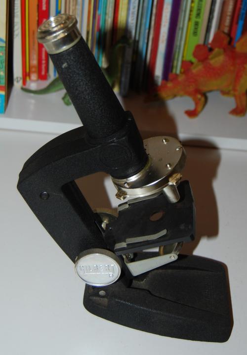 Vintage gilbert microscope 8