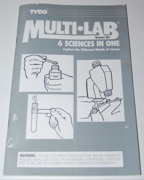 Tyco chemcraft multi lab science set 6