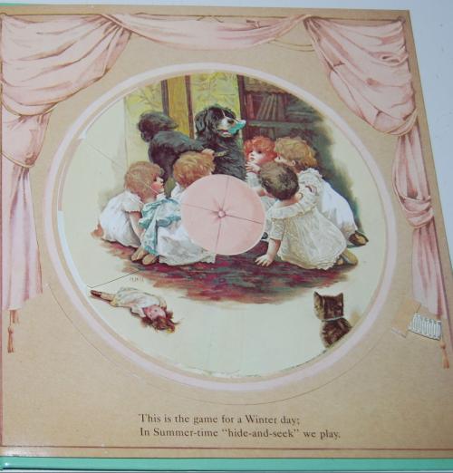 Magic windows revolving picture book 8