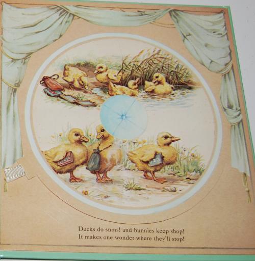 Magic windows revolving picture book 10