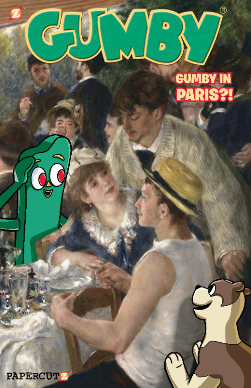 GUMBY#3_PROMOcoverGreen
