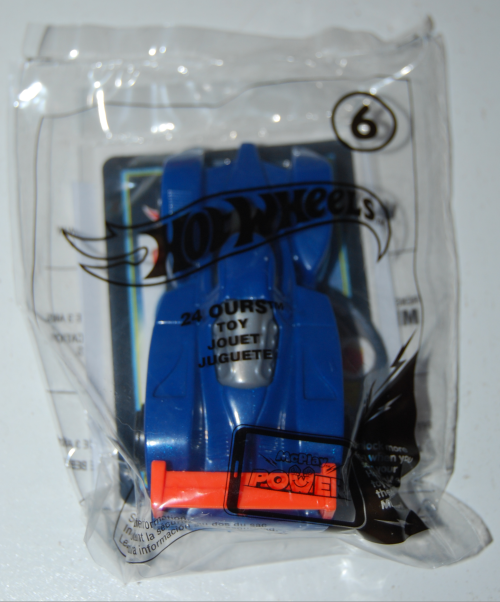 Hot wheels happy meal toy 2017