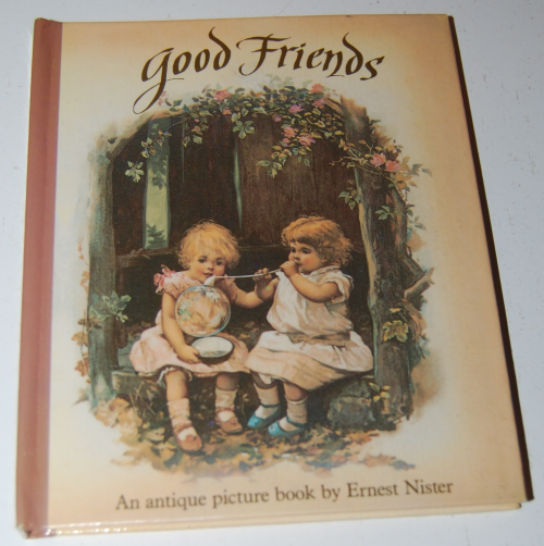 Good friends antique book