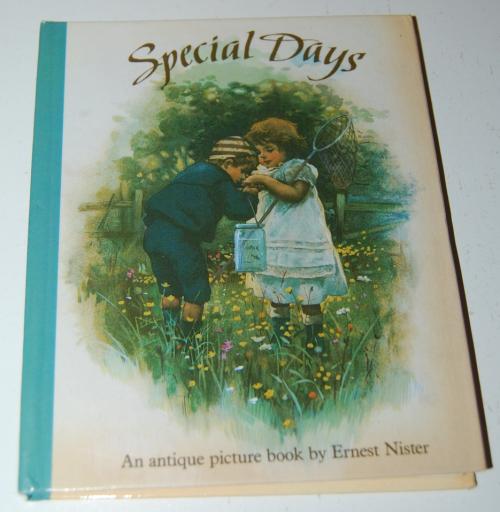 Special days antique book