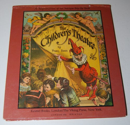 The childrens' theater antique pop up book