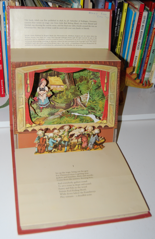 The childrens' theater antique pop up book 1